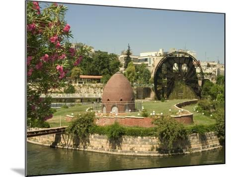 Water Wheel on the Orontes River, Hama, Syria, Middle East-Christian Kober-Mounted Photographic Print