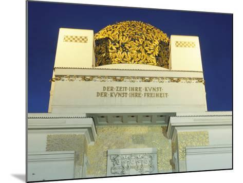 Detail of the Exterior of the Dome of the Art Nouveau Secession Building, Vienna, Austria-Richard Nebesky-Mounted Photographic Print