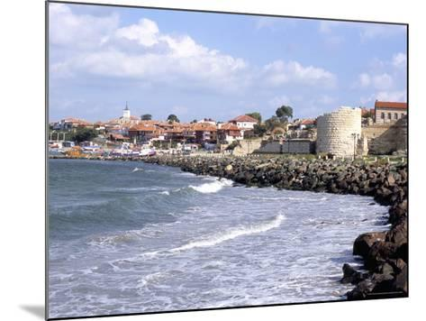 Town and Walls of Nesebar, Bulgaria-Richard Nebesky-Mounted Photographic Print