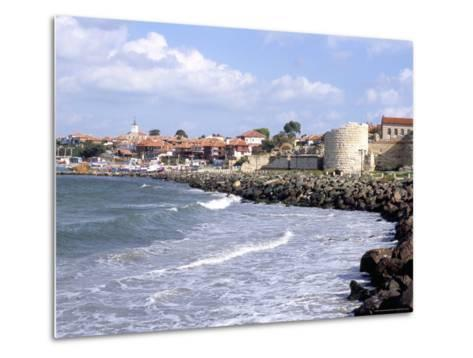 Town and Walls of Nesebar, Bulgaria-Richard Nebesky-Metal Print