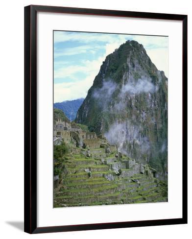 Inca Archaeological Site of Machu Picchu, Unesco World Heritage Site, Peru, South America-Oliviero Olivieri-Framed Art Print