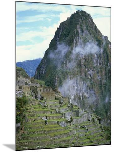 Inca Archaeological Site of Machu Picchu, Unesco World Heritage Site, Peru, South America-Oliviero Olivieri-Mounted Photographic Print