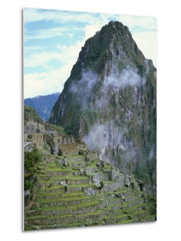 Inca Archaeological Site of Machu Picchu, Unesco World Heritage Site, Peru, South America-Oliviero Olivieri-Metal Print