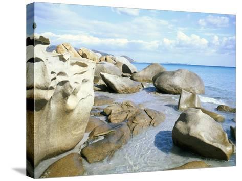 Capo Boi, Southeast Coast, Island of Sardinia, Italy, Mediterranean-Oliviero Olivieri-Stretched Canvas Print