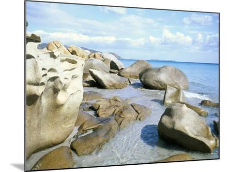 Capo Boi, Southeast Coast, Island of Sardinia, Italy, Mediterranean-Oliviero Olivieri-Mounted Photographic Print
