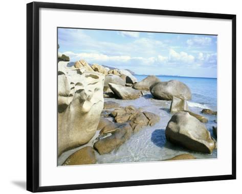 Capo Boi, Southeast Coast, Island of Sardinia, Italy, Mediterranean-Oliviero Olivieri-Framed Art Print