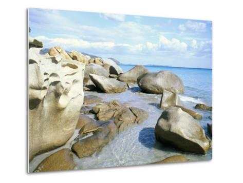 Capo Boi, Southeast Coast, Island of Sardinia, Italy, Mediterranean-Oliviero Olivieri-Metal Print