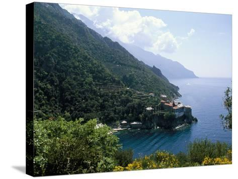 View of the Holy Athos, Greece-Oliviero Olivieri-Stretched Canvas Print