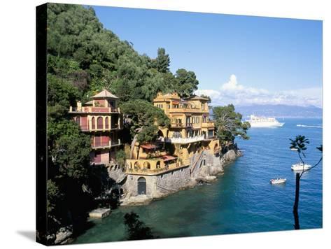 Portofino, Liguria, Italy, Mediterranean-Oliviero Olivieri-Stretched Canvas Print