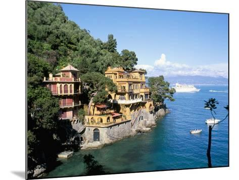 Portofino, Liguria, Italy, Mediterranean-Oliviero Olivieri-Mounted Photographic Print