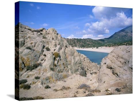 Samothraki (Samothrace), Aegean Islands, Greek Islands, Greece-Oliviero Olivieri-Stretched Canvas Print