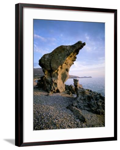 Thassos (Thasos), Aegean Islands, Greek Islands, Greece-Oliviero Olivieri-Framed Art Print