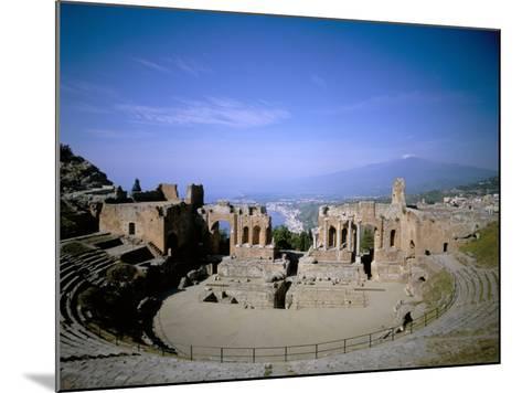 Taormina, Island of Sicily, Italy, Mediterranean-Oliviero Olivieri-Mounted Photographic Print
