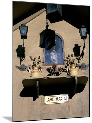 Shrine in the Street, Palermo, Island of Sicily, Italy, Mediterranean-Oliviero Olivieri-Mounted Photographic Print