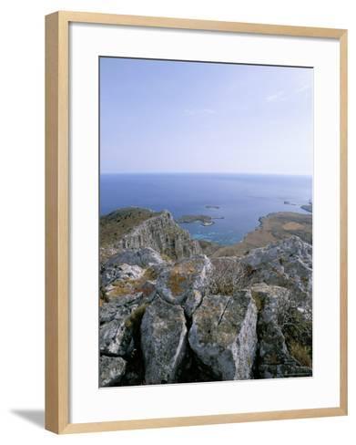 Favignana Island, Egadi Islands, Sicily, Italy, Mediterranean-Oliviero Olivieri-Framed Art Print