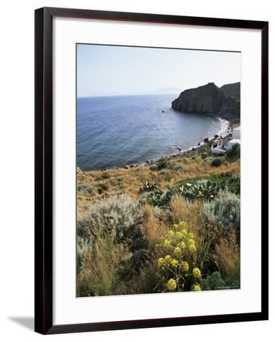 Filicudi, Aeolian Islands (Lipari Islands), Unesco World Heritage Site, Italy, Mediterranean-Oliviero Olivieri-Framed Art Print