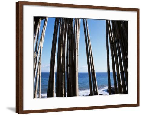 Stromboli, Aeolian Islands (Liparia Islands), Italy, Mediterranean-Oliviero Olivieri-Framed Art Print