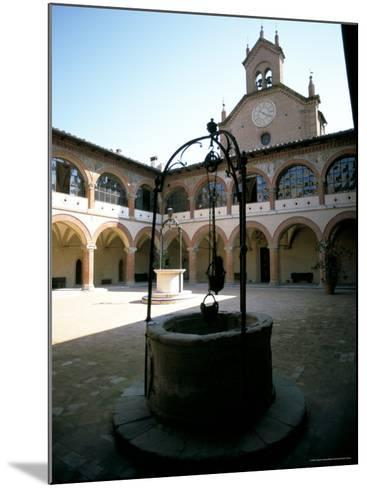 Collegio Di Spagna, Bologna, Emilia-Romagna, Italy-Oliviero Olivieri-Mounted Photographic Print