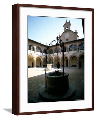Collegio Di Spagna, Bologna, Emilia-Romagna, Italy-Oliviero Olivieri-Framed Art Print