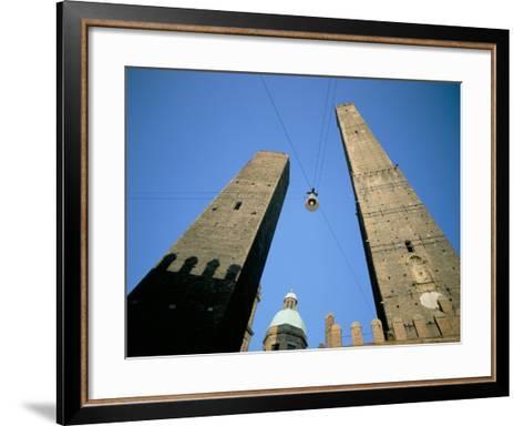Le Torri Dell'Asinello, Bologna, Italy-Oliviero Olivieri-Framed Art Print