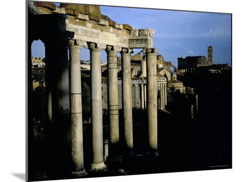 The Forum, Rome, Lazio, Italy-Oliviero Olivieri-Mounted Photographic Print