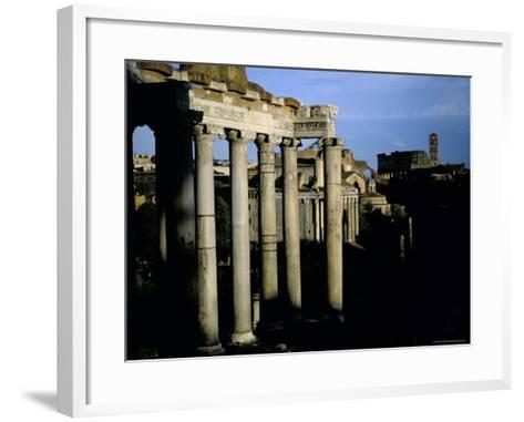 The Forum, Rome, Lazio, Italy-Oliviero Olivieri-Framed Art Print