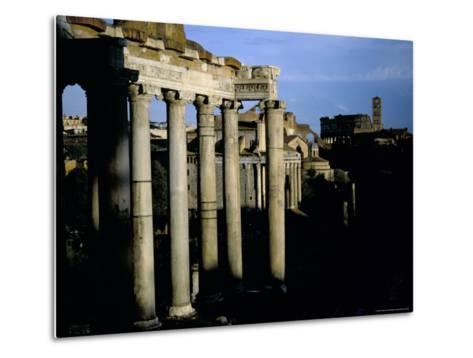 The Forum, Rome, Lazio, Italy-Oliviero Olivieri-Metal Print