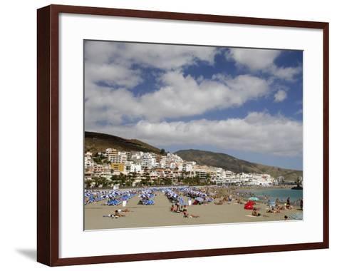 Playa De Las Americas, Tenerife, Canary Islands, Spain, Atlantic-Sergio Pitamitz-Framed Art Print