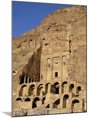 Urn Tomb, Petra, Unesco World Heritage Site, Jordan, Middle East-Sergio Pitamitz-Mounted Photographic Print