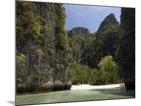 Loh Sama Bay, Phi Phi Lay Island, Thailand, Southeast Asia-Sergio Pitamitz-Mounted Photographic Print