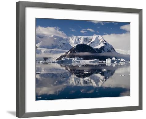 Gerlache Strait, Antarctic Peninsula, Antarctica, Polar Regions-Sergio Pitamitz-Framed Art Print