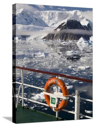 Antarctic Dream Ship, Gerlache Strait, Antarctic Peninsula, Antarctica, Polar Regions-Sergio Pitamitz-Stretched Canvas Print