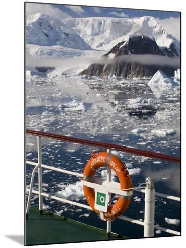 Antarctic Dream Ship, Gerlache Strait, Antarctic Peninsula, Antarctica, Polar Regions-Sergio Pitamitz-Mounted Photographic Print