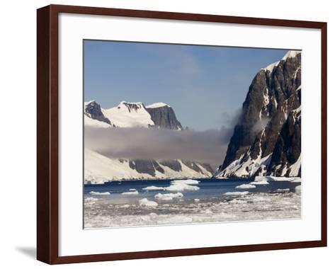 Lemaire Channel, Antarctic Peninsula, Antarctica, Polar Regions-Sergio Pitamitz-Framed Art Print