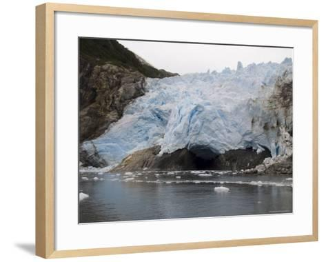 Garibaldi Glacier, Darwin National Park, Tierra Del Fuego, Patagonia, Chile, South America-Sergio Pitamitz-Framed Art Print
