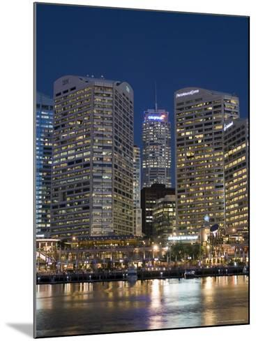Darling Harbour, Sydney, New South Wales, Australia-Sergio Pitamitz-Mounted Photographic Print