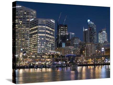 Darling Harbour, Sydney, New South Wales, Australia-Sergio Pitamitz-Stretched Canvas Print