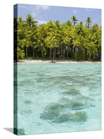 Bora-Bora, Leeward Group, Society Islands, French Polynesia Islands-Sergio Pitamitz-Stretched Canvas Print