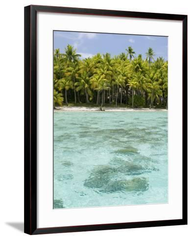 Bora-Bora, Leeward Group, Society Islands, French Polynesia Islands-Sergio Pitamitz-Framed Art Print