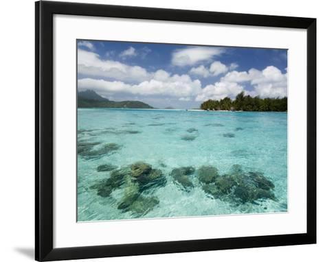 Bora-Bora, Leeward Group, Society Islands, French Polynesia Islands-Sergio Pitamitz-Framed Art Print