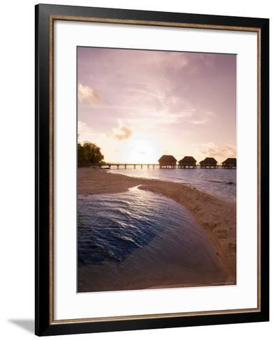 Pearl Beach Resort, Tikehau, Tuamotu Archipelago, French Polynesia Islands-Sergio Pitamitz-Framed Art Print