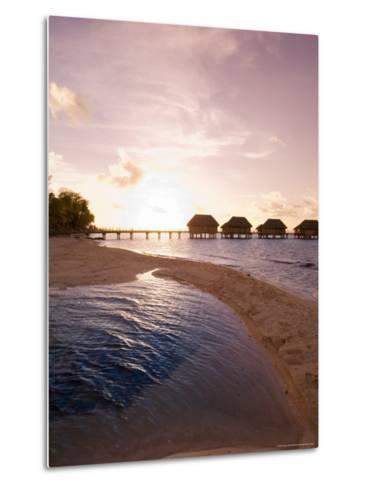 Pearl Beach Resort, Tikehau, Tuamotu Archipelago, French Polynesia Islands-Sergio Pitamitz-Metal Print