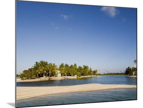 Tikehau, Tuamotu Archipelago, French Polynesia Islands-Sergio Pitamitz-Mounted Photographic Print