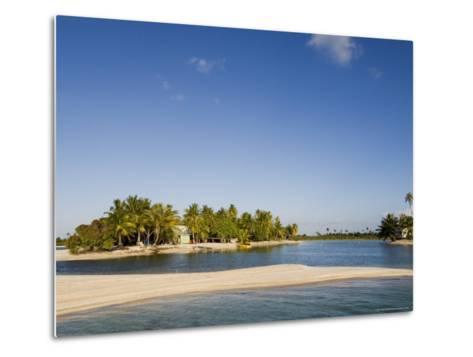 Tikehau, Tuamotu Archipelago, French Polynesia Islands-Sergio Pitamitz-Metal Print