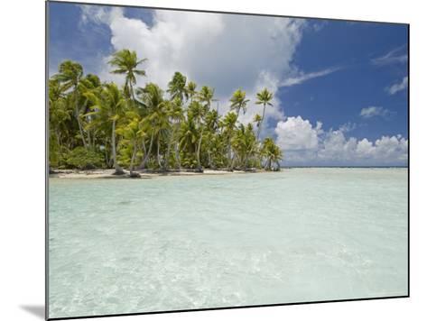 Blue Lagoon, Rangiroa, Tuamotu Archipelago, French Polynesia Islands-Sergio Pitamitz-Mounted Photographic Print