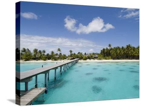 Fakarawa, Tuamotu Archipelago, French Polynesia Islands-Sergio Pitamitz-Stretched Canvas Print