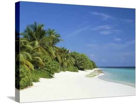 Soneva Fushi Resort, Kunfunadhoo Island, Baa Atoll, Maldives, Indian Ocean-Sergio Pitamitz-Stretched Canvas Print