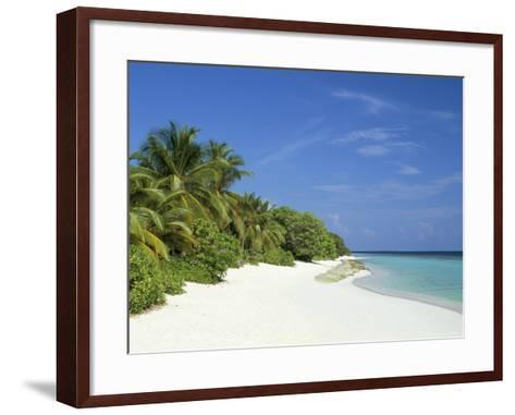 Soneva Fushi Resort, Kunfunadhoo Island, Baa Atoll, Maldives, Indian Ocean-Sergio Pitamitz-Framed Art Print