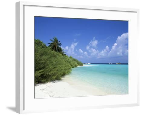 Asdu Island, North Male Atoll, Maldives, Indian Ocean-Sergio Pitamitz-Framed Art Print