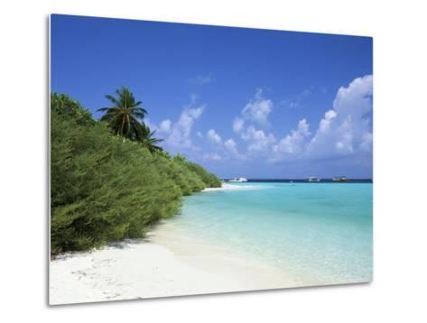 Asdu Island, North Male Atoll, Maldives, Indian Ocean-Sergio Pitamitz-Metal Print